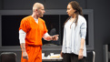 James Badge Dale as Rick and Tamara Tunie as Gloria in Building the Wall.