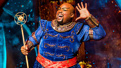 Major Attaway as Genie in Aladdin