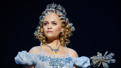 Amanda Jane Cooper as Glinda in Wicked.