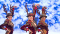 The Radio City Rockettes in The Christmas Spectacular.