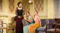 Elizabeth McGovern as Mrs. Conway, Charlotte Perry as Kay and Anna Baryshnikov as Carol in Time and the Conways.