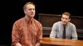 John Sanders as Stuart Vaughan and Fran Kranz as Merle Debusky in Illyria.