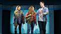 Barrett Wilbert Weed as Janis, Erika Henningsen as Cady and Grey Henson as Damian in Mean Girls.