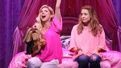 Kerry Butler as Mrs. George and Erika Henningsen as Cady in Mean Girls.