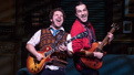 Justin Collette as Dewey and Jonathan Gould as Ned in School of Rock.