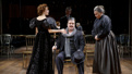 Marin Mazzie as Misia, Douglas Hodge as Diaghilev and Marsha Mason as Dunya in Fire and Air.