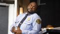 Brian Tyree Henry as William in Lobby Hero.