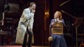 Harry Hadden-Paton as Henry Higgins and Lauren Ambrose as Eliza Doolittle in My Fair Lady.