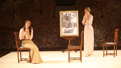 Hannah Elless as Nellie Ewell and Marin Ireland as Alma Winemiller in Summer and Smoke.
