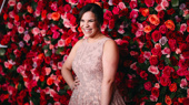 Carousel Tony nominee Lindsay Mendez is pretty in pink.