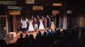 The Desperate Measures cast takes their first off-Broadway bow.