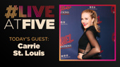 Broadway.com #LiveatFive with Carrie St. Louis of Kinky Boots