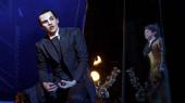 Bronson Norris Murphy as The Phantom & Jake Heston Miller as Gustave in the national tour of Love Never Dies.
