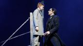 Jake Heston Miller as Gustave & Bronson Norris Murphy as The Phantom in the national tour of Love Never Dies.