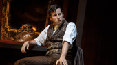 Sean Thompson as Raoul in the national tour of Love Never Dies.