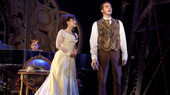 Jake Heston Miller as Gustave, Meghan Picerno as Christine Daaé & Sean Thompson as Raoul in the national tour of Love Never Dies.