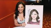 Tony Winner Lindsay Mendez Gets Her Sardi's Portrait