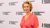 Bernhardt/Hamlet star Janet McTeer poses for the camera.