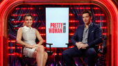 Pretty Woman Stars Samantha Barks & Andy Karl Quiz Each Other in What's My Q?