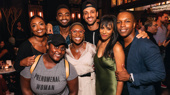Stars Step Out to Celebrate Nicolette Robinson's First Night in Waitress