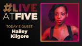 Broadway.com #LiveatFive with Hailey Kilgore of Once On This Island
