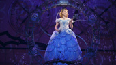 Ginna Claire Mason as Glinda in Wicked