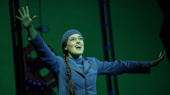 Mary Kate Morrissey as Elphaba in Wicked