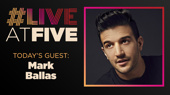 Broadway.com #LiveatFive with Mark Ballas of Kinky Boots