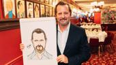 Tony-Winning Choreographer Rob Ashford Receives Sardi's Portrait