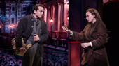 Lila Coogan (Anya) & Stephen Brower (Dmitry) in the national tour of Anastasia, photo by Matthew Murphy