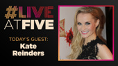 Broadway.com #LiveatFive with Kate Reinders of Beautiful