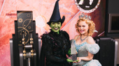 Jessica Vosk and Amanda Jane Cooper Put a Spell on the Empire State Building for Wicked's 15th Anniversary