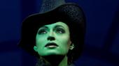 Jackie Burns as Elphaba in Wicked