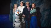 It's a Summer Breeze! Original Olaf Josh Gad Visits Frozen on Broadway