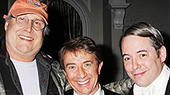 Chevy Chase Reunites with Martin Short Backstage at It's Only a Play