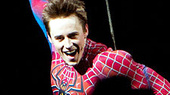 Reeve Carney's Iconic Spider-Man, Turn Off the Dark Costume to Be Inducted Into the Smithsonian