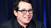 Nice Work Star Matthew Broderick on Fighting with Harvey Fierstein, Drawing Attention with Nathan Lane and Pulling a Muscle While Sitting