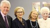 Bill and Hillary Clinton, Gabrielle Giffords & Meryl Streep Enjoy a Patriotic Outing at Ann