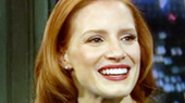 The Heiress' Jessica Chastain Talks Freaking People Out in Mama & Wearing a Mickey Mouse Costume on Fallon