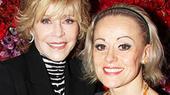 Oscar Winner Jane Fonda and Tony Nominee Tracie Bennett Toast at End of the Rainbow