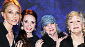 Sierra Boggess and the Cast of Love, Loss and What I Wore Celebrate 1,000 Performances Off-Broadway