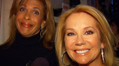 The Today Show's Kathie Lee Gifford and Hoda Kotb Keep the Holiday Spirit Alive Backstage at Billy Elliot