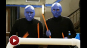 Watch Bill Hader and Andy Samberg Take on Stomp and Blue Man Group on Saturday Night Live