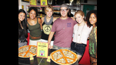 A Slice of Love! Hair Hippies Sample a Special Pizza Honoring Their Show