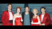 Funnyman Jimmy Fallon Feels the Holiday Spirit at White Christmas
