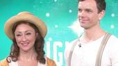 Watch Bright Star's Carmen Cusack & Paul Alexander Nolan Shine