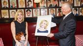 She Loves Me Tony Nominee Jane Krakowski Receives Sardi's Caricature