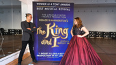 What a pair! Jose Llana and Laura Michelle Kelly are poised for The King and I's national tour.