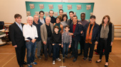 The cast and creative team of A Bronx Tale is ready for Broadway!