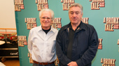 A Bronx Tale's directing duo Jerry Zaks and Robert DeNiro get together.